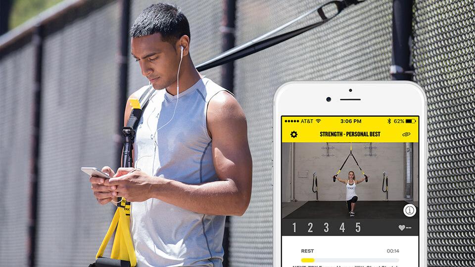 Ejercicios TRX en tu app