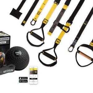 El Pack TRX Cross Training es un paquete único que combina la suspensión y el entrenamiento funcional con el peso y la resistencia.