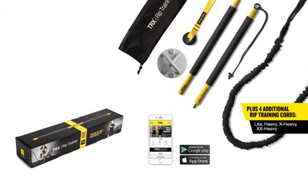 El Pack TRX Get Ripped ofrece todo lo que necesitas para hacer ejercicios con TRX. Más concretamente este pack te ayudará a desarrollar tu fuerza de rotación además de acondicionar y obtener un poco de cardio.