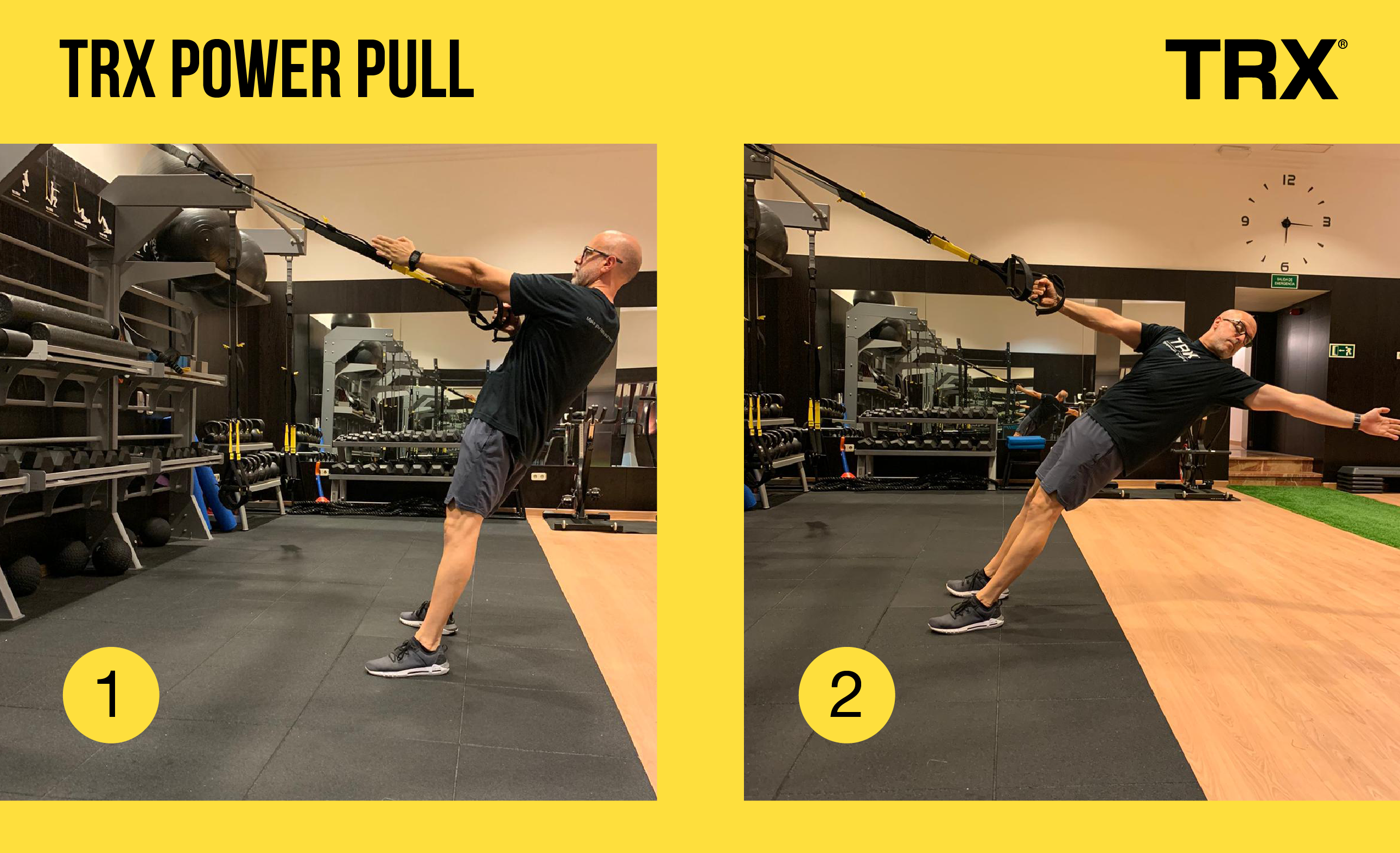 Ejercicio TRX Power Pull